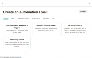 Send RSS Blog Updates to Email