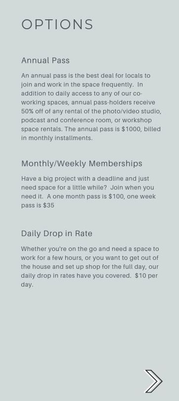 fairmont wv coworking pricing