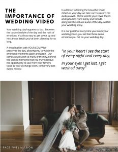videographer pricing guide