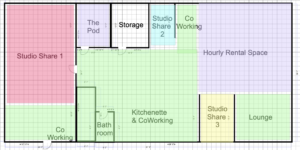 304 collective studio floorplan